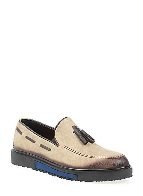 Derigo Loafer Ayakkabı Bej